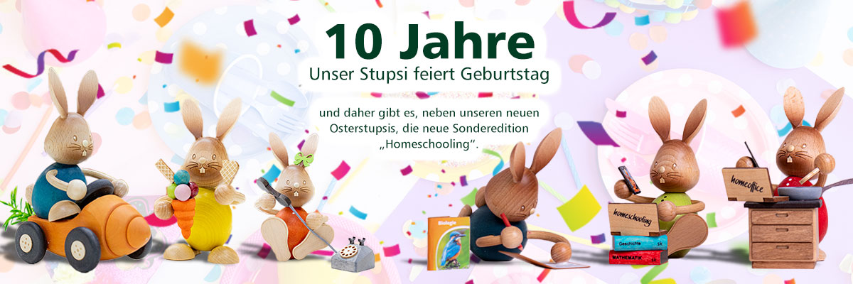 10 Jahre Stupsi - Sonderedition Homeoffice